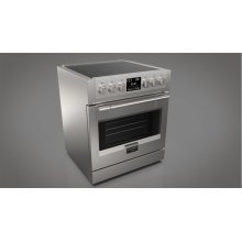 """30"""" Induction Pro Range - Stainless Steel"""