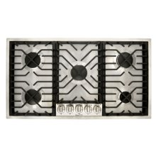 """36"""" Gas Dropin Cooktop, featuring Culinary™ Burners"""
