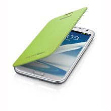 Galaxy Note II Flip Cover, LIME GREEN
