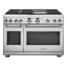 """Monogram 48"""" All Gas Professional Range with 6 Burners and Griddle (Liquid Propane) - AVAILABLE EARLY 2020"""