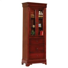 Louis Phillipe Murphy Wall Bed Bookcase