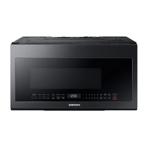2.1 cu. ft. Over-the-Range Microwave with Sensor Cooking in Fingerprint Resistant Black Stainless Steel Product Image