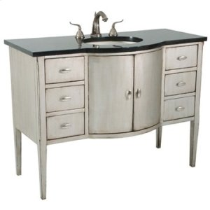 Sterling Bowfront Large Sink Chest Product Image