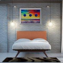 Tracy 3 Piece Queen Bedroom Set in Cappuccino Orange