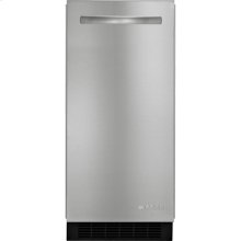 15-inch Under Counter Ice Machine, Euro-Style Stainless Handle