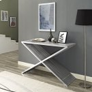 Press Console Table in Silver Product Image