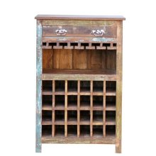 Painted Wine Cabinet