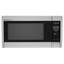 Sharp Carousel Countertop Microwave Oven 1.3 cu. ft. 1000W Stainless Steel