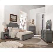 Bella Grigio - Six Drawer Dresser - Chipped Gray Finish Product Image