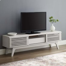 "Render 59"" TV Stand in White"