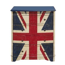 Union Jack Accent Drawer Chest