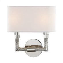 Wall Sconce - POLISHED NICKEL