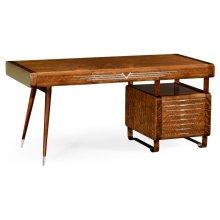 50's Americana Pedestal Desk