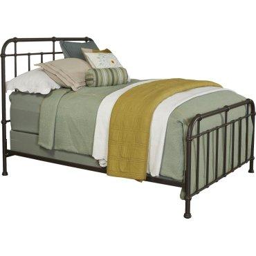 Cranford Spindle Metal King Bed