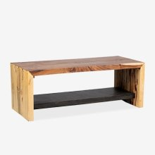 (LS) Emmerson Natural Munggur Coffee Table