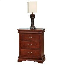 Legacy 3-Drawer Nightstand