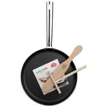 BALLARINI Cookin´italy 10-inch round PTFE Pancake pan, Black