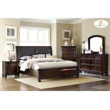 Homelegance 1847 Faust Sleigh Bedroom set Houston Texas USA Aztec Furniture