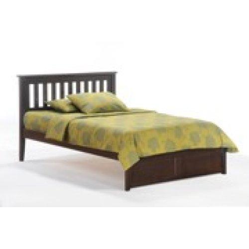 Rosemary Bed in Dark Chocolate Finish