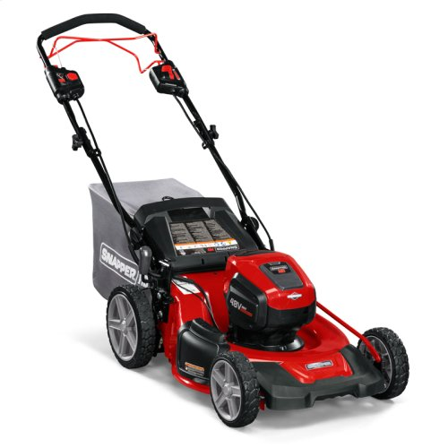 Snapper HD 48V Max* Electric Cordless Self-Propelled Lawn Mower  Snapper