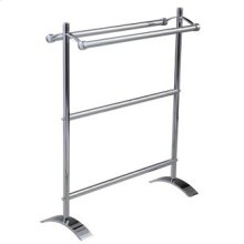 Essentials Small Freestanding Double Towel Holder