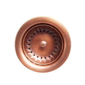 "3 1/2"" Solid Copper Drain with Product Image"