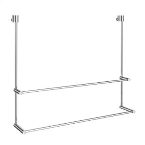 Double Towel Rail for Glass Shower Panel Product Image