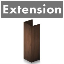 """ZLINE 61"""" Wooden Chimney Extension for Ceilings up to 12.5 ft. (321RR-E)"""