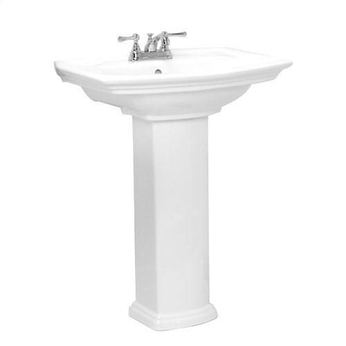 "Washington 765 Pedestal Lavatory - 4"" Centerset"