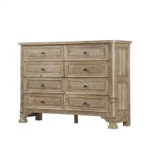 Emerald Home Kennewick 8 Drawer Dresser Weathered Pine B561-01-05