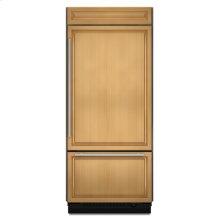 "36"" Overlay Built-In Bottom Mount Refrigerator"