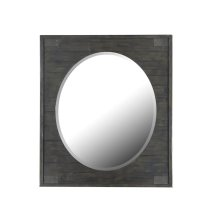 Portrait Oval Mirror