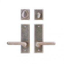 """Rectangular Entry Set - 2 1/2"""" x 8"""" Silicon Bronze Brushed"""