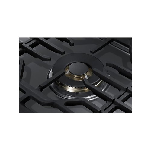 "36"" Gas Cooktop with 22K BTU Dual Power Burner in Stainless Steel"