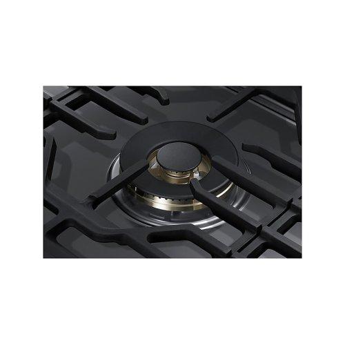 "36"" Gas Cooktop with 22K BTU Dual Power Burner in Stainless Steel"