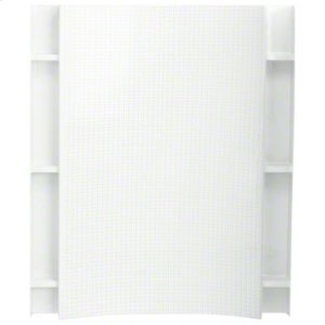 """Accord® Backwall with Age In Place backers, 60""""x36"""" - White Product Image"""