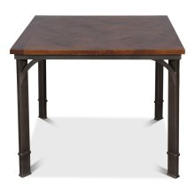 Gaming Dining Table,Walnut Finish