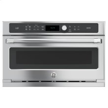 GE Cafe™ Series 30 in. Single Wall Oven with Advantium® Technology - Floor Model