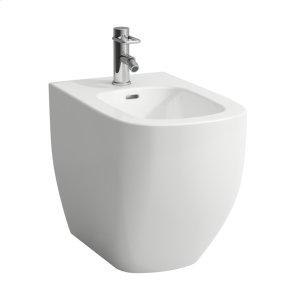 White Floorstanding bidet Product Image