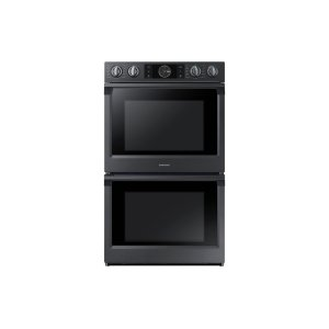 """30"""" Flex Duo™ Double Wall Oven in Black Stainless Steel Product Image"""