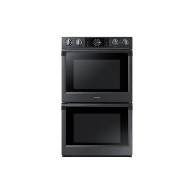 "30"" Flex Duo Double Wall Oven in Black Stainless Steel Product Image"