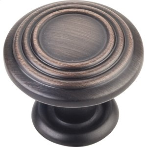 "1-1/4"" Diameter Spiral Cabinet Knob. Product Image"