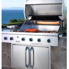 """52"""" and 36"""" Built-In Outdoor Grills"""