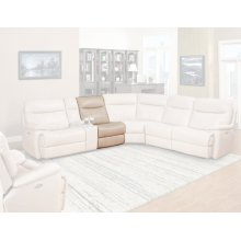 DYLAN - CREME Manual Armless Recliner