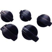 Gas Cooktop Knob Set (5 knobs) HEZ27751