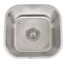 13.75 Inch Petite Stainless Steel Undermount Bar/Prep Sink