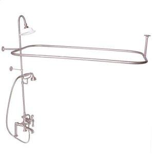 Code Rectangular Shower Unit - Lever / Brushed Nickel Product Image