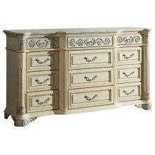Sienna Antique White Dresser - 72''L x 20''D x 42''H