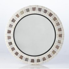 Portobello 24in. Round Mirror