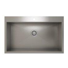 ProInox H0 Single Bowl Topmount Kitchen Sink ProInox H0 18-gauge Stainless Steel, 30'' x 16'' x 9''